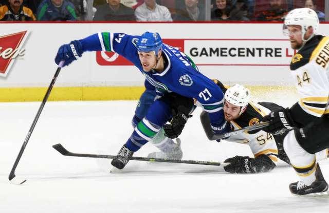 Bruins Canucks